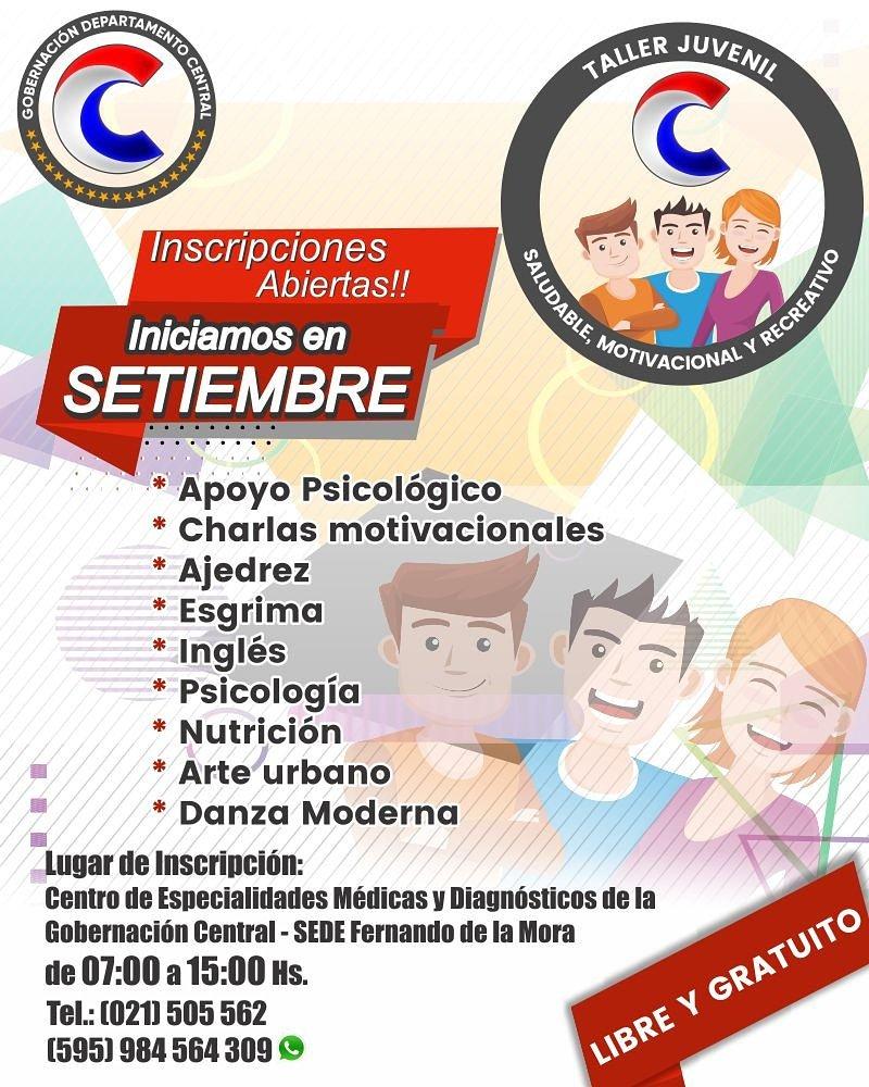 Gobernación Central On Twitter La Gobernación De Central