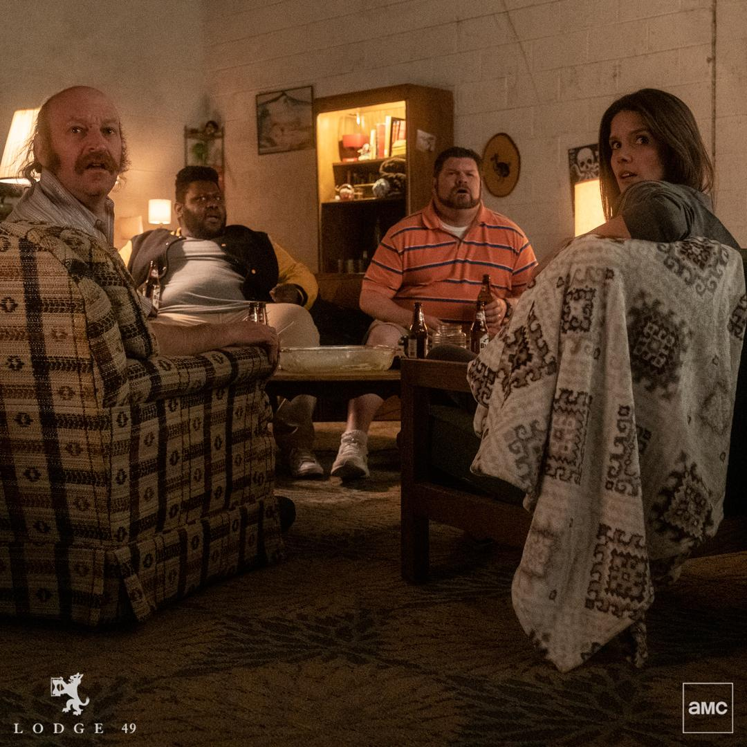 A chance to cut loose for the night. New #Lodge49 episode TONIGHT at 10/9c.