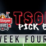 Image for the Tweet beginning: Week 4 Pick Em is