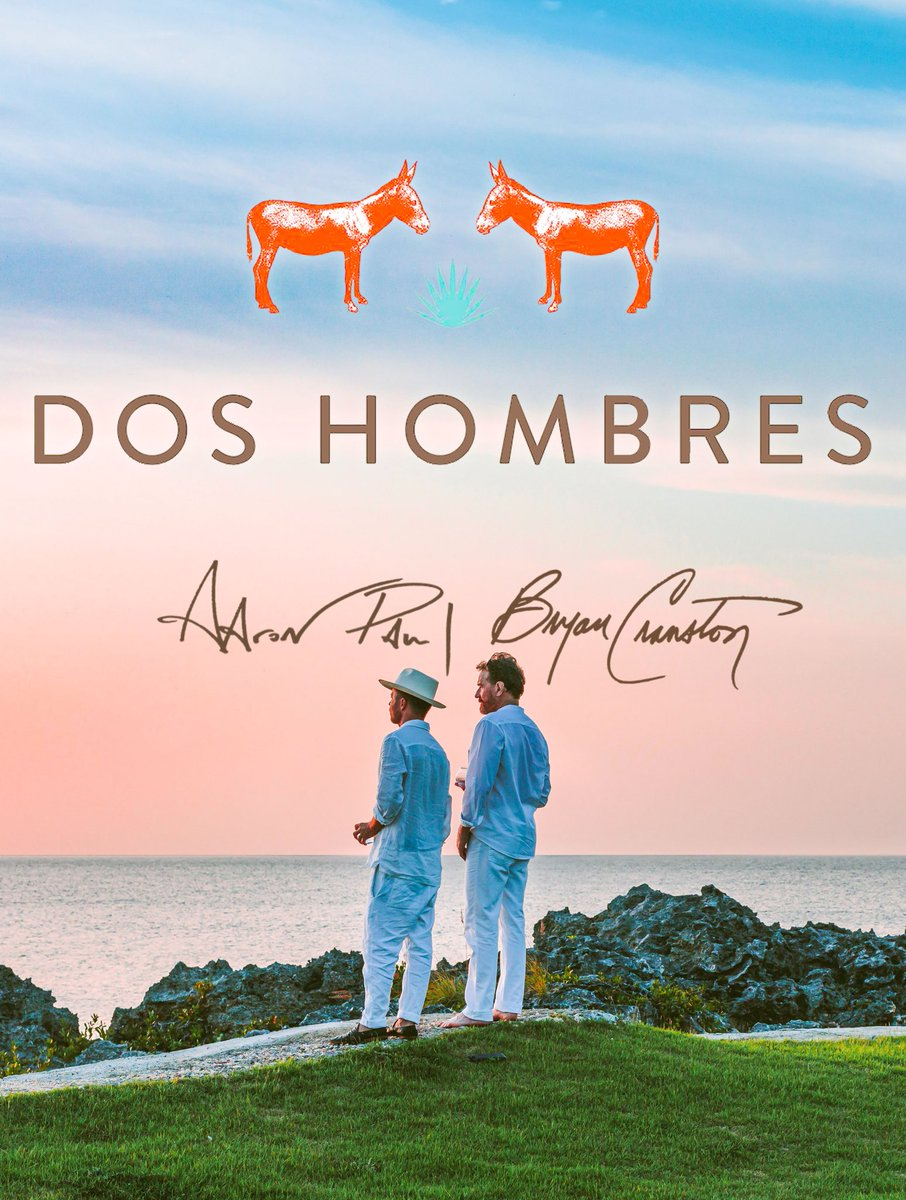 """Aaron: """"Let's start a Mezcal?"""" Bryan: """"Yeah, when donkeys fly."""" Happy to say I was wrong. Very proud of @doshombres and those magical flying donkeys!"""