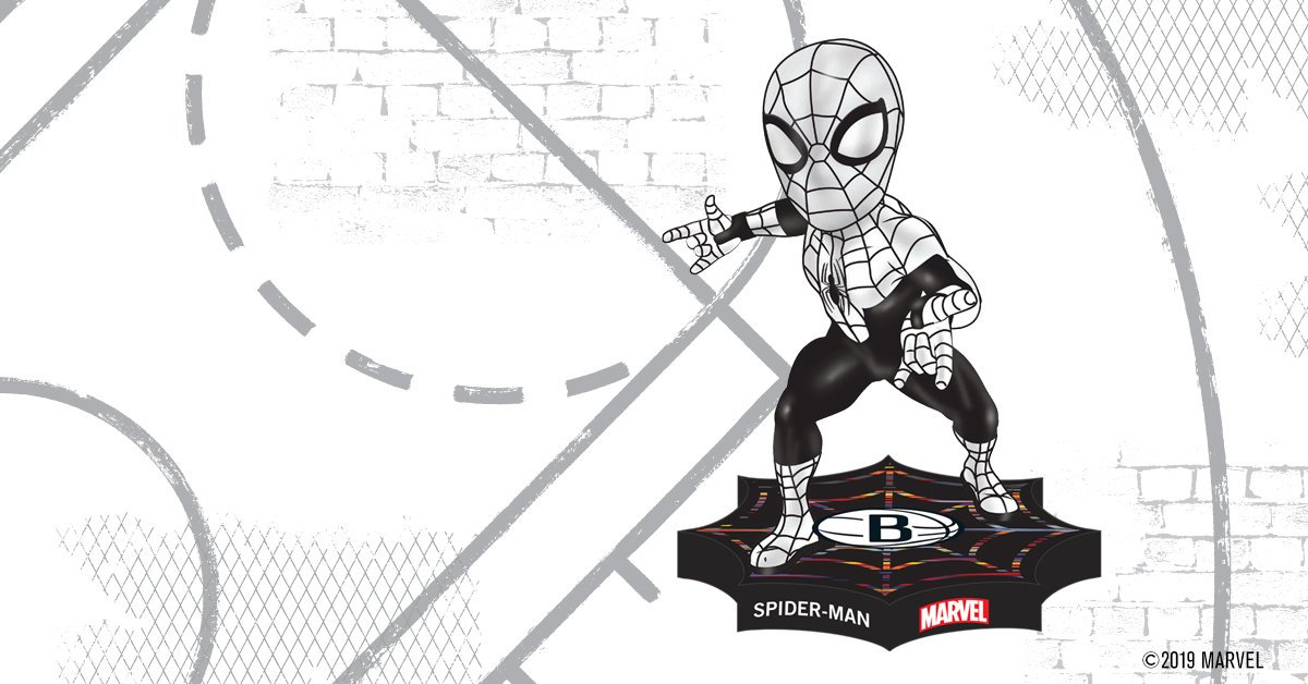 OK let's do this one last time yeah? For real this time. This is it. Our name is the Nets and for 7 years we've been the one and only NBA team in Brooklyn. We're pretty sure you know the rest 🕷  Marvel Presents Spider-Man Bobblehead Night on Fri. Nov. 22: http://nba.com/nets/schedule?games=promo …