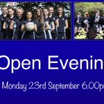 Image for the Tweet beginning: It's our Open Evening on