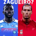 Image for the Tweet beginning: Koulibaly x Van Dijk /