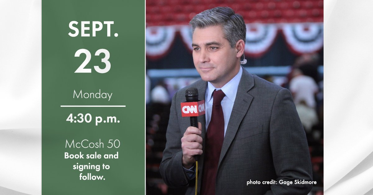 What's it like to cover the @realDonaldTrump White House for @CNN? In one week, @Acosta will visit @Princeton to share his experiences and discuss his new book. Join us! http://bit.ly/AcostaWWS  | #PrincetonU @PUPolitics @julianzelizer