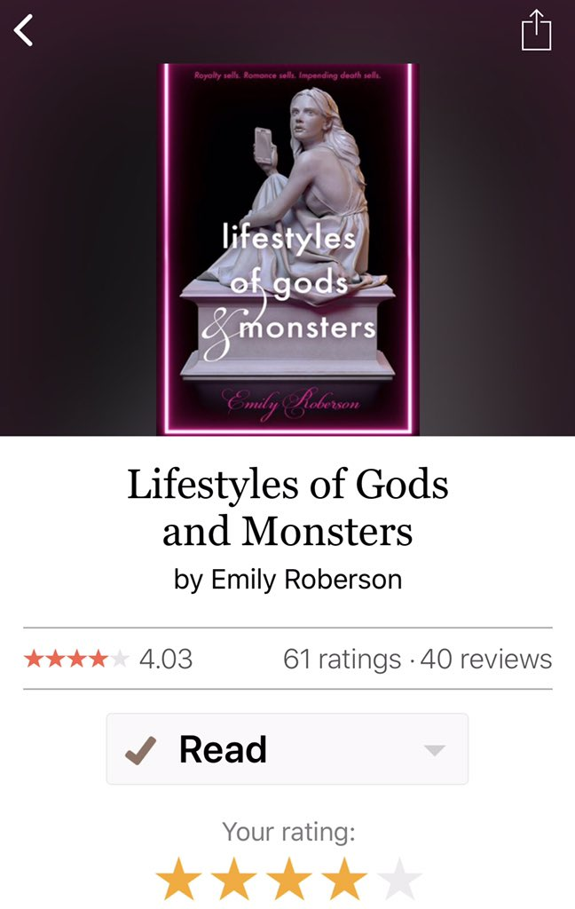 @RobersonEmily I already added and read, does that count? 🙈