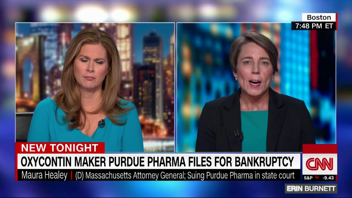 This is about justice. Its about accountability. Massachusetts Attorney General Maura Healey explains her states opposition to the Purdue Pharma settlement agreement. cnn.it/303Cni5