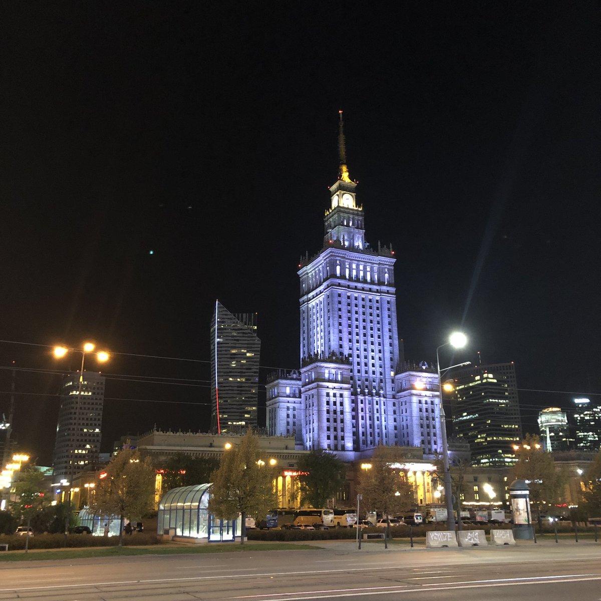 Good night, Warsaw...