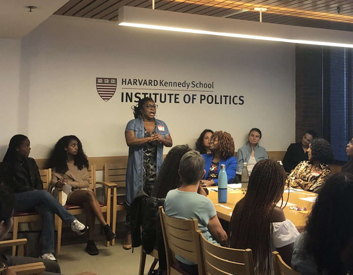 Great group and message led by @DeeshaDyer  at @harvardiop  - From Imposter to Impact.