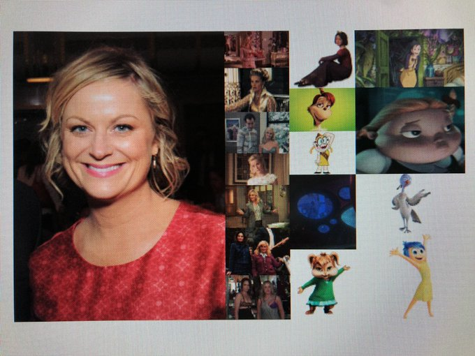 Happy 48th Birthday to actress, comedian, director, producer, and writer, Amy Poehler!