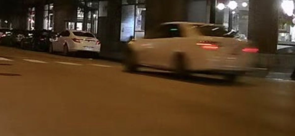 Chicago police say this is the car that hit and killed a 43-year-old man early this morning at Wabash and Ohio. Officers are looking for the driver and checking for any other video or images from the area that might help investigators.