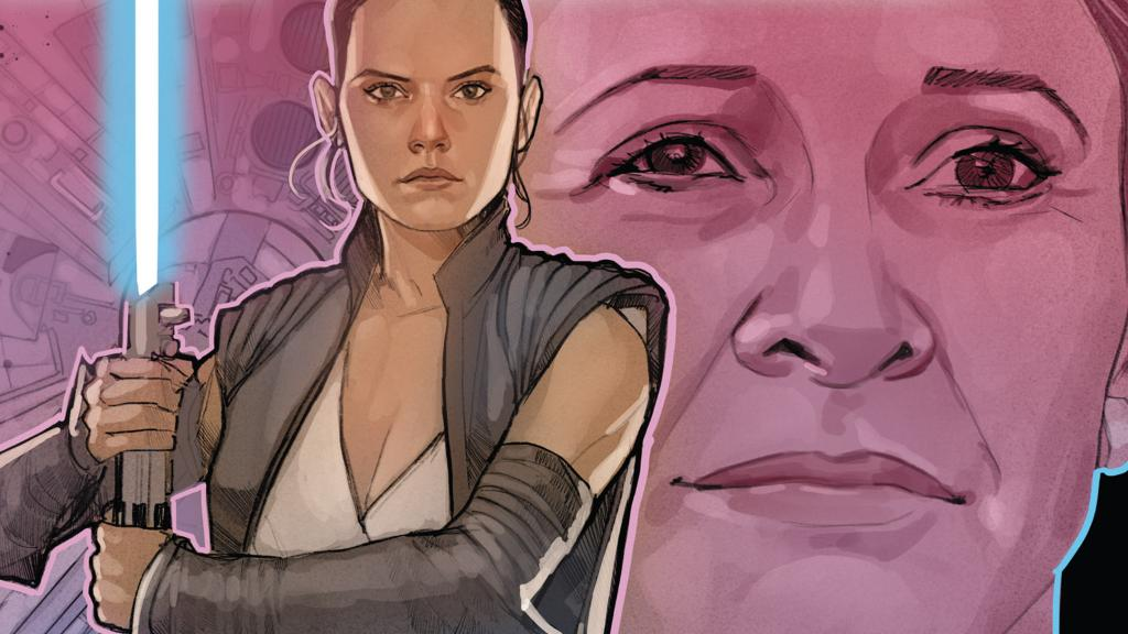 Get an early glimpse at a never before seen moment between Rey and Leia in the newest issue of Age of Resistance: strw.rs/6010Eh9tw