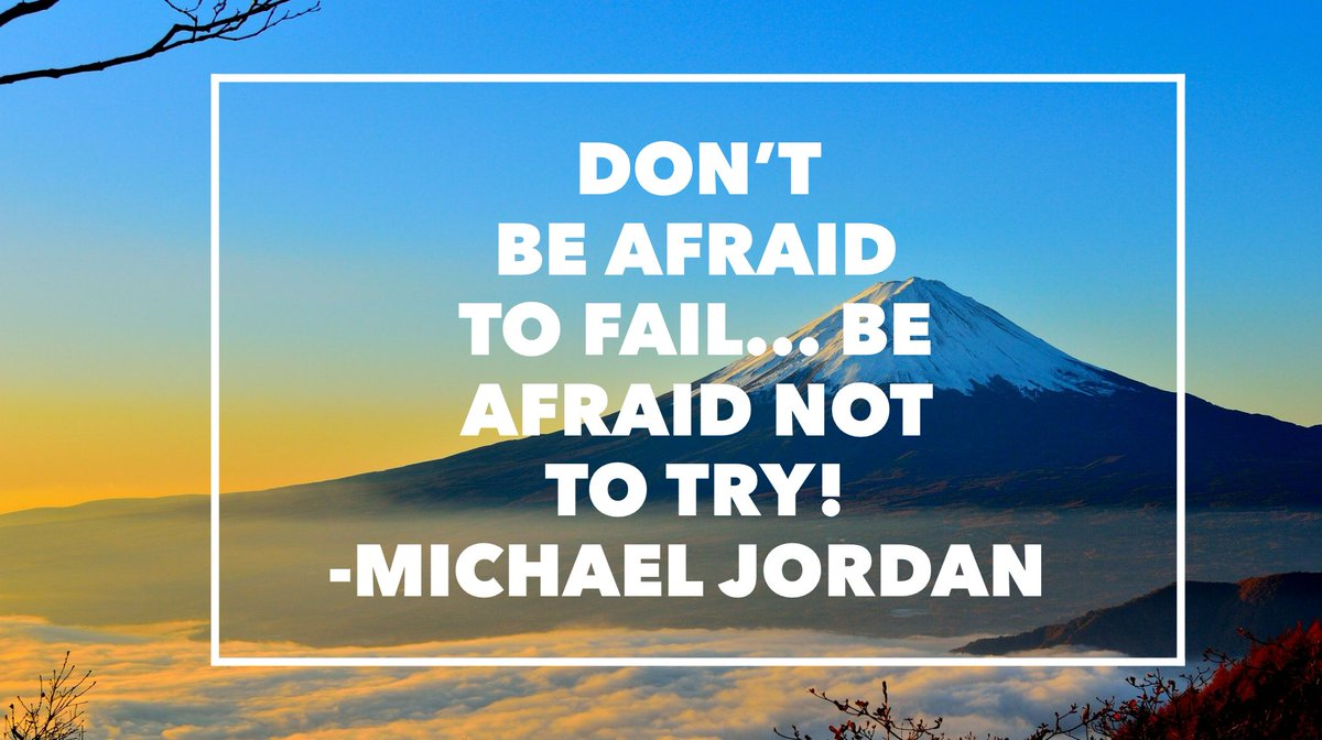 Happy Monday afternoon! Here is a quote from Michael Jordan to get you thinking this afternoon! #ourWHY