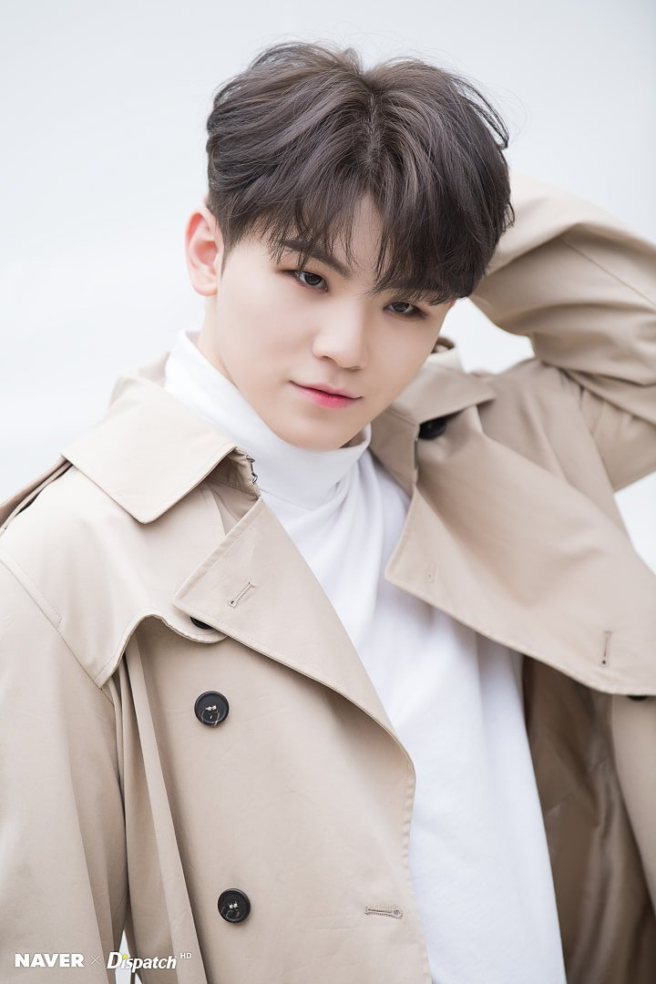 [#FOTO] 16.09.19: Woozi no Photoshoot para o Naver x Dispatch