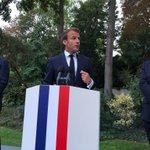 Image for the Tweet beginning: Discours du Président de la