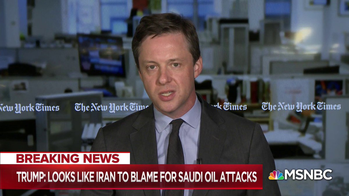 """I do wonder how many members of his base really care about Khashoggi but in Congress that's a different story... Members of Congress were furious... The more he embraces this Saudi government the more pushback he's getting..."" - @michaelcrowley w/ @NicolleDWallace https://t.co/oS0NTkzhi0"