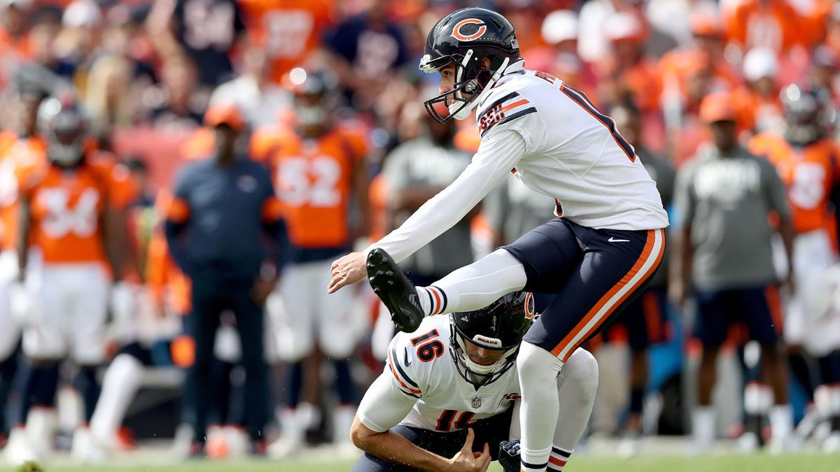 Even after they touched down from Denver Sunday night, the Chicago Bears had to be feeling a mile high about Eddy Pineiros breathtaking 53-yard game-winner with just a second to spare. cbsloc.al/34OntuJ