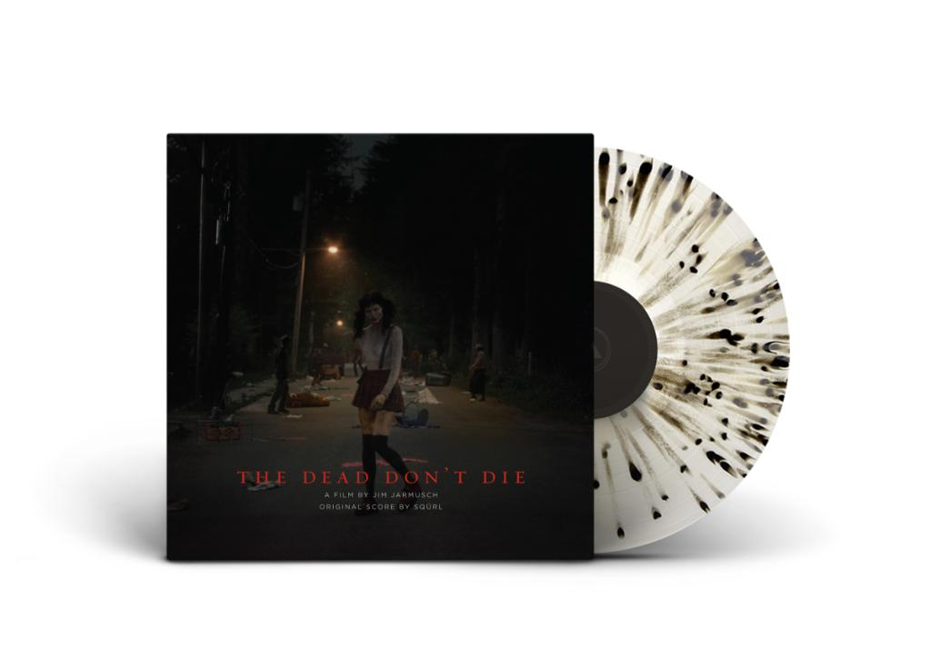 """The vinyl edition of SQÜRL's original score for @thedeaddontdie is out now! Order it on limited edition """"Black Dust"""" vinyl from @SacredBones!  https://t.co/xvlZt6dsDB https://t.co/kempi3fT44"""