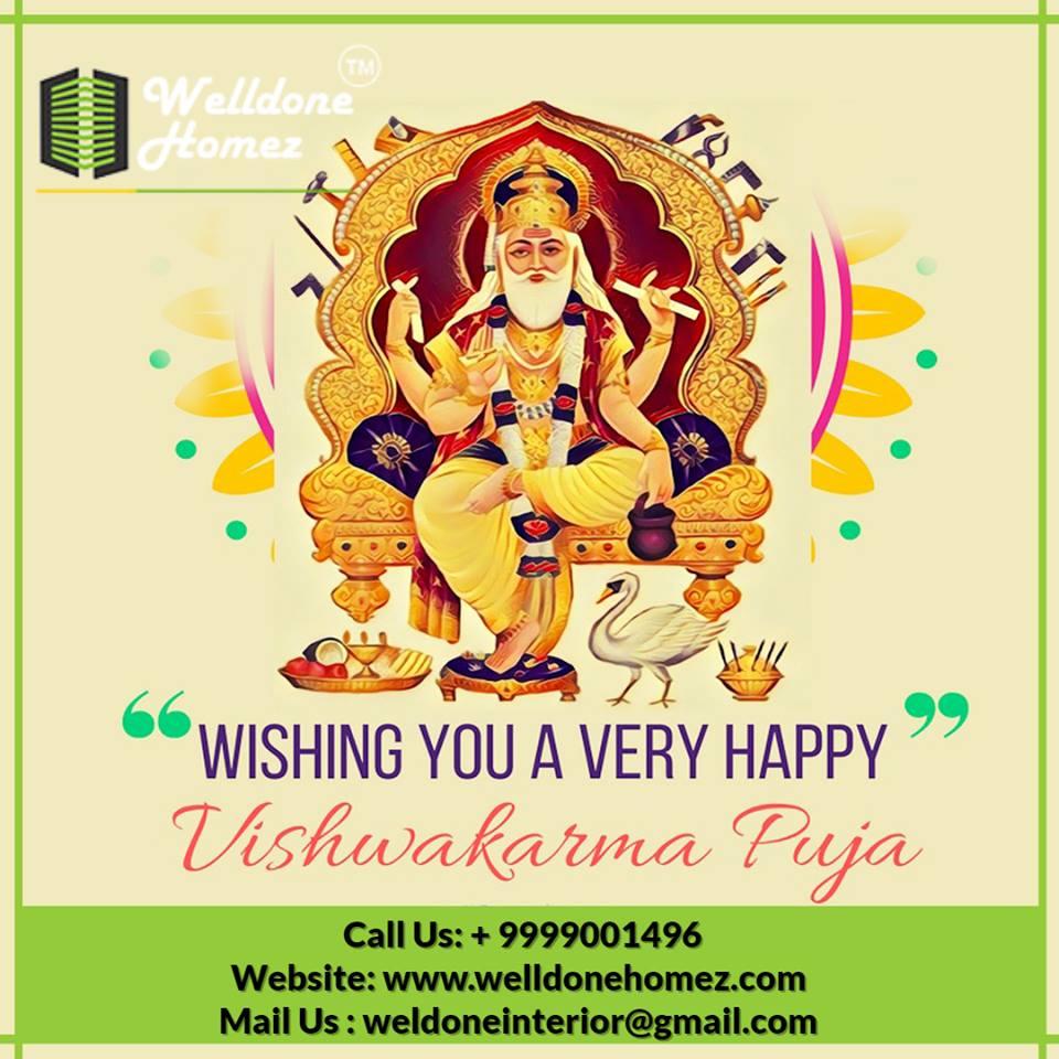 Wish you Happy Vishwakarma 2019 #WeldoneHomez #Interior #Design #ModularKitchen #OfficeDesign #HomeDesign #Decoration #HomeDecoration #OfficeDecoration #LivingRoomDesign<br>http://pic.twitter.com/d6Rz6FzXEL
