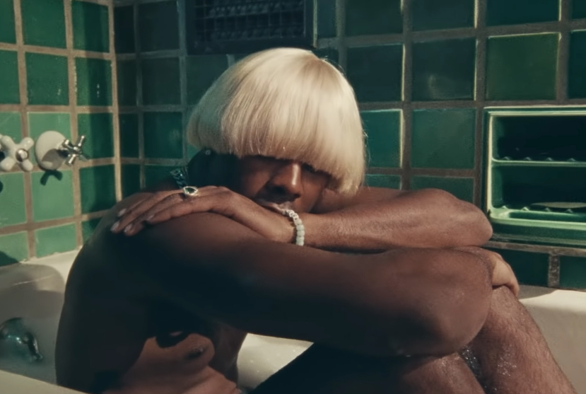 "See Tyler, the Creator channels his alter-ego Igor in the new video for ""A Boy Is a Gun""  https:// rol.st/30oaeNI     <br>http://pic.twitter.com/AQlzKP4Udq"