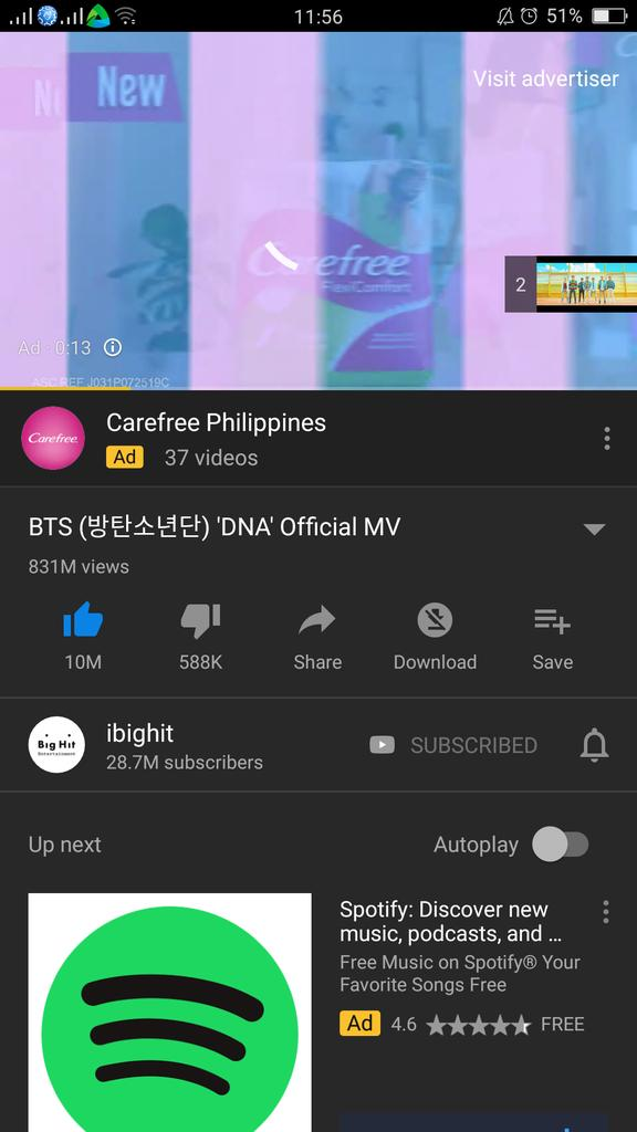 i know im small acc but let me ask you this, wtf are you doing?Cant you see that Dna is at 831M Views?Guys, we rested enough,we need to get back to work and stream dna,bts worked hard for this,we need to worked hard too.Are you ready armys? #DNAROADTO1B #BTSisBack #dnacomeback1b <br>http://pic.twitter.com/ORN8lDMESb