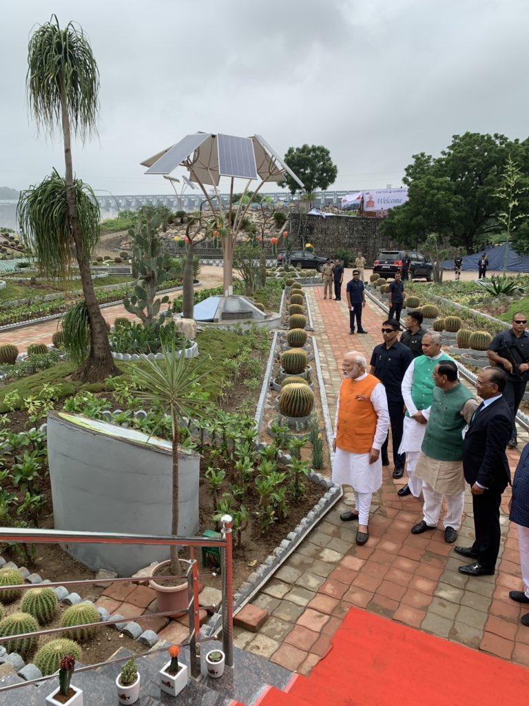 In pictures: PM Narendra Modi on visit to District Narmada