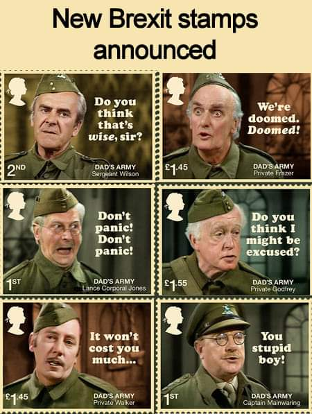 The stamps Brexit needs