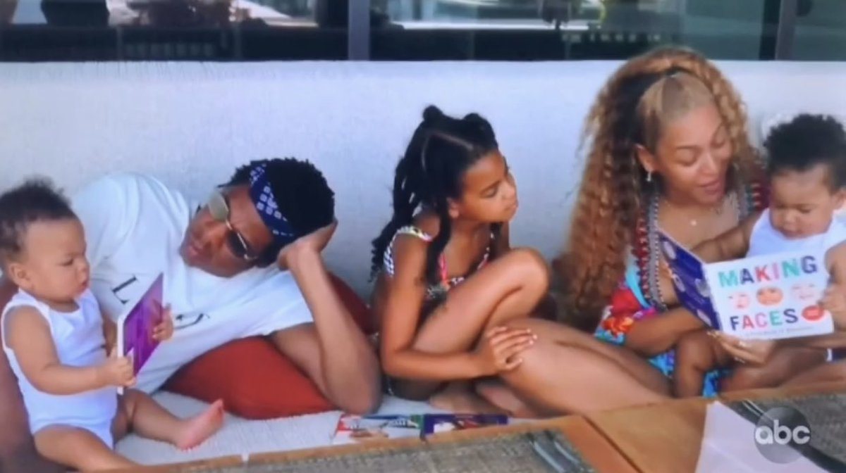 Beyoncé's Twins Rumi and Sir Carter Stole Her ABC Documentary, Making The Gift