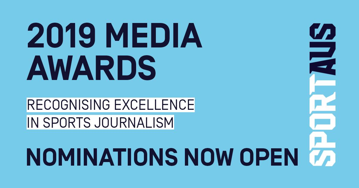 Have you started preparing your entry? Australian sports media - get your nominations in for the 2019 #SportAUSMediaAwards - categories for #broadcast, #digital and #print #journalism, with categories covering all aspects of sport. Details at https://www.sportaus.gov.au/media-centre/media_awards_2019…