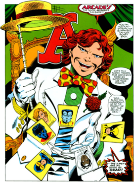 Have we ever considered that the villain Arcade from X-Men is really Tucker Carlson?