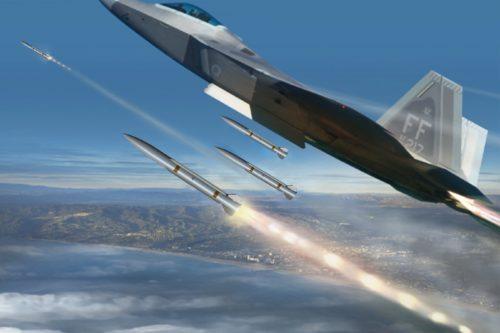 شركة Raytheon الامريكيه تكشف عن صاروخ Peregrine جو-جو متوسط المدى الجديد  EEoI4JBUUAAnXzD