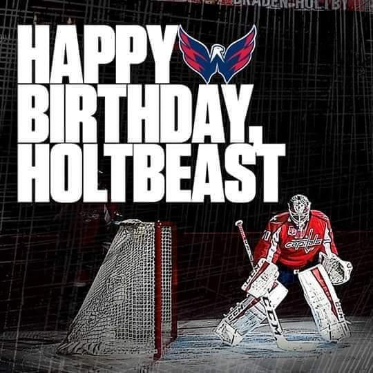 Happy Birthday Braden Holtby!!