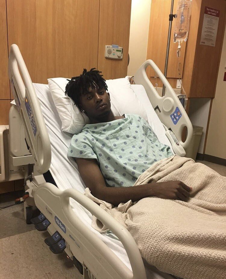 Carti: i'm scared of getting this slime transplant Thug: it's ok my love, i'll be here after your procedure *Carti wakes up after surgery and sees a nurse* Carti: where is Thugger? he said he'd be here nurse: who do you think gave you the slime??