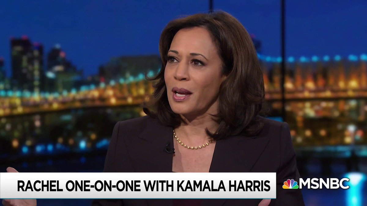 """""""The invisible, not-so-invisible, hand of the White House was basically orchestrating, choreographing, curating what the Judiciary Committee would learn about this nominee to serve for a lifetime on the highest court in our land."""" -Sen. Kamala Harris https://t.co/3hPAb35fH2"""