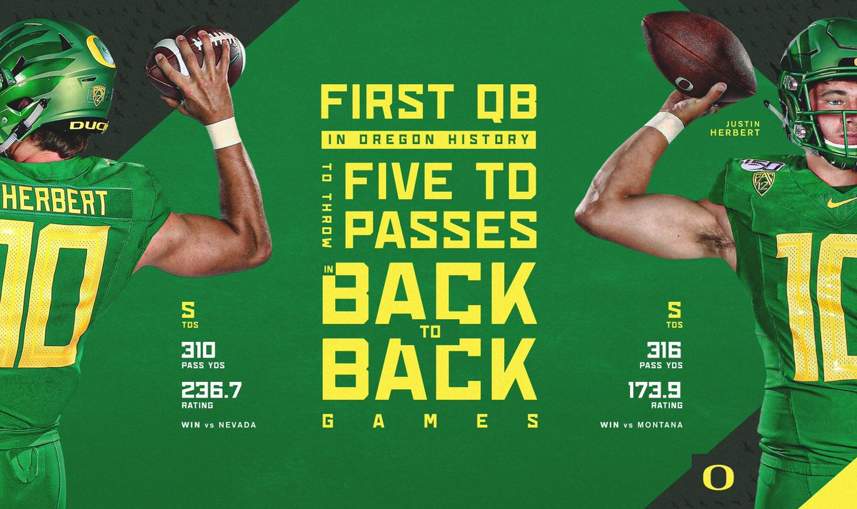 Another note in the record books for #10. #GoDucks