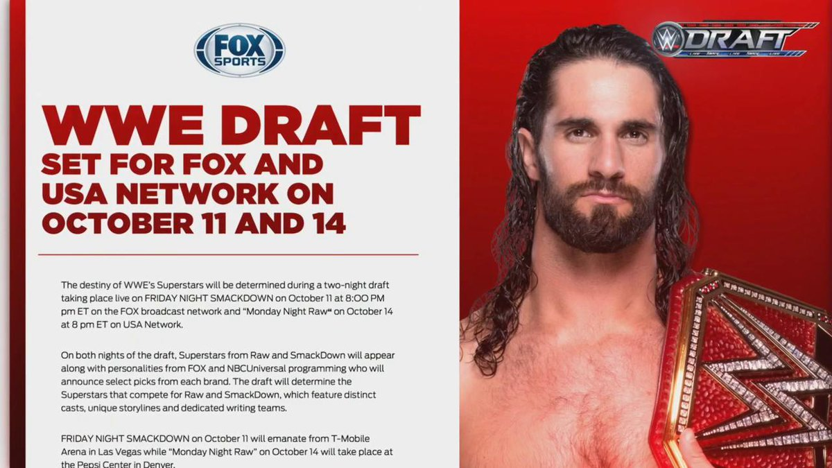 or  ?  The #WWEDRAFT is coming! #RAW<br>http://pic.twitter.com/69YWbDHP3b