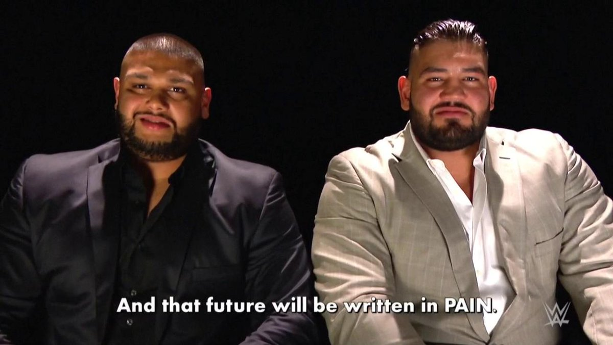 You've been warned.    @Akam_WWE @Rezar_WWE #RAW #AOP<br>http://pic.twitter.com/WJG9QU2Cuy