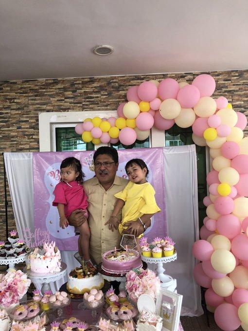 Happy birthday to meri peji, our amitabh bachchan    and also to my dearest nieces bibi saffiya & bibi sara