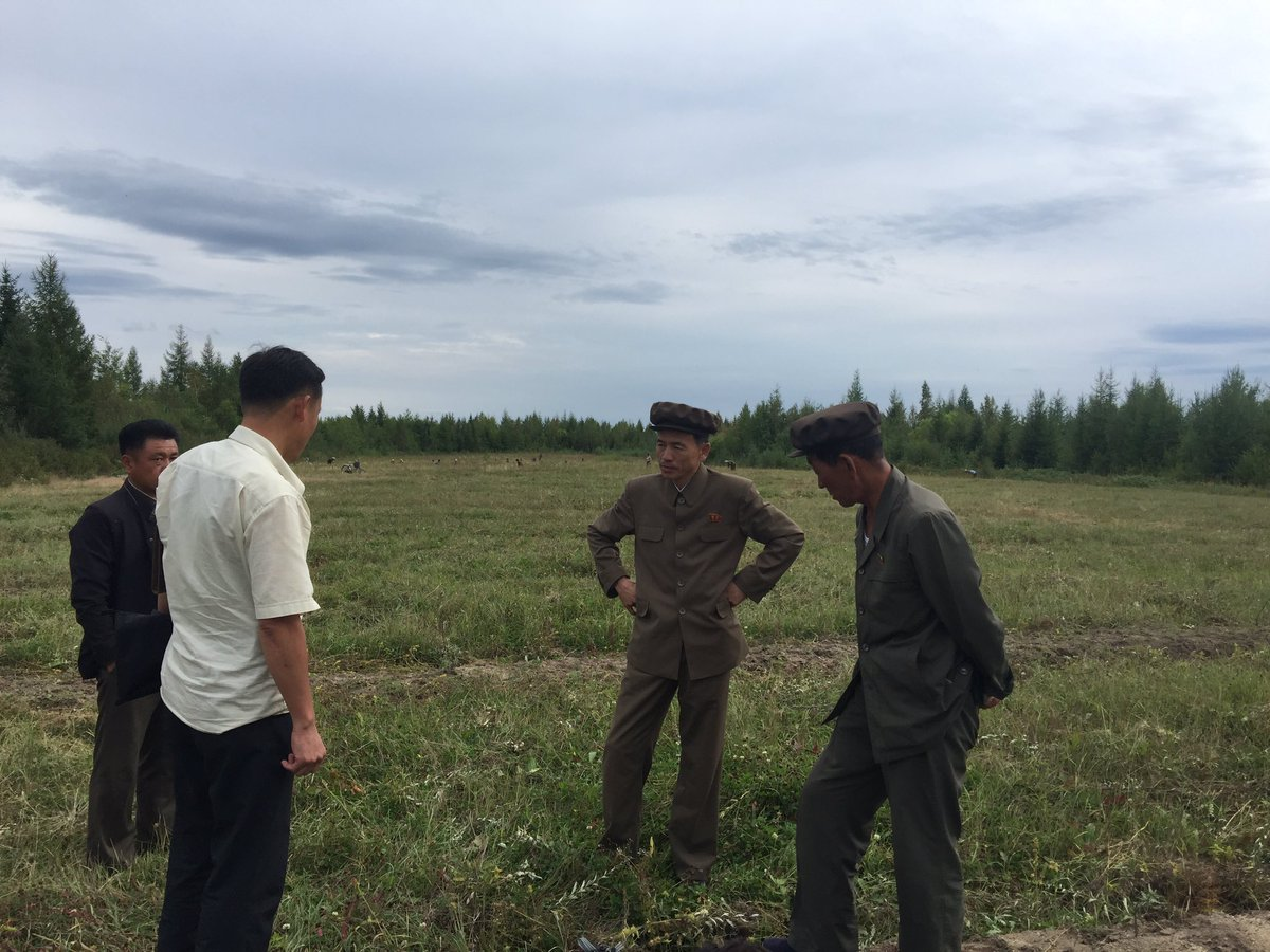 Visiting North Korea to backstop a project for food security <br>http://pic.twitter.com/d1fDIFdSD7