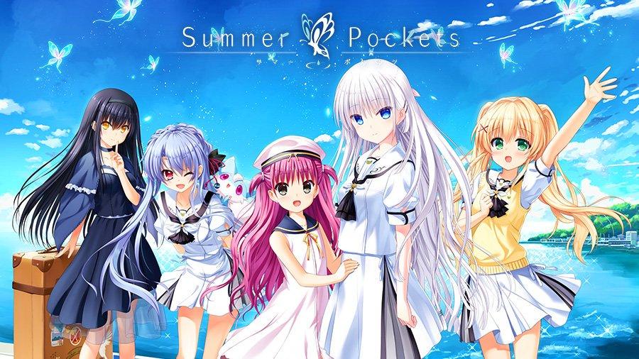 【Summer Pockets】ポケットに夏休みをアプリ版、好評配信中。▼Android版▼ ▼iOS版▼#サマポケ