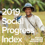 Image for the Tweet beginning: The 2019 #SocialProgress Index goes