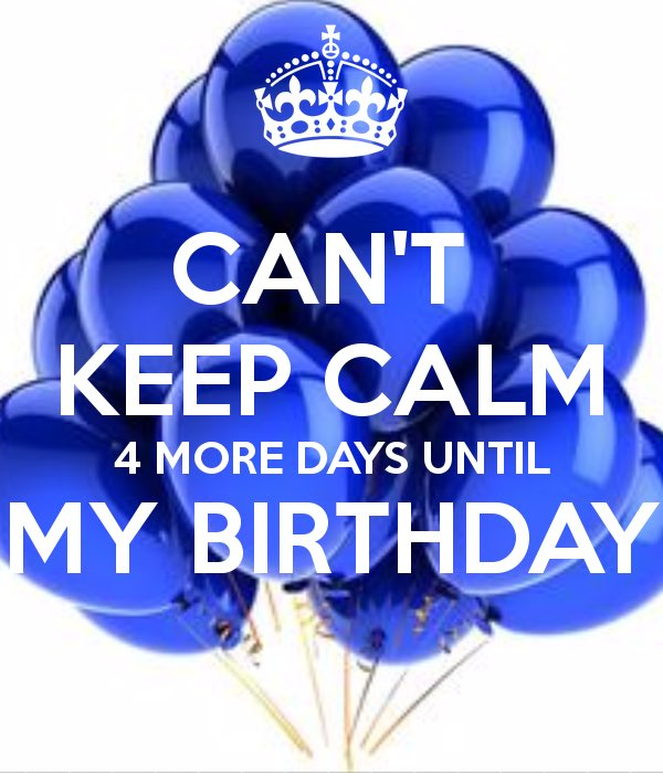 Adam Silverstein On Twitter Four Days Until My Birthday The Party Is Just Getting Started I Have A Feeling That 21 Is Going To Be My Best Year Ever Four More Days