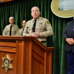 Image for the Tweet beginning: @LACoSheriff Announces Out of State