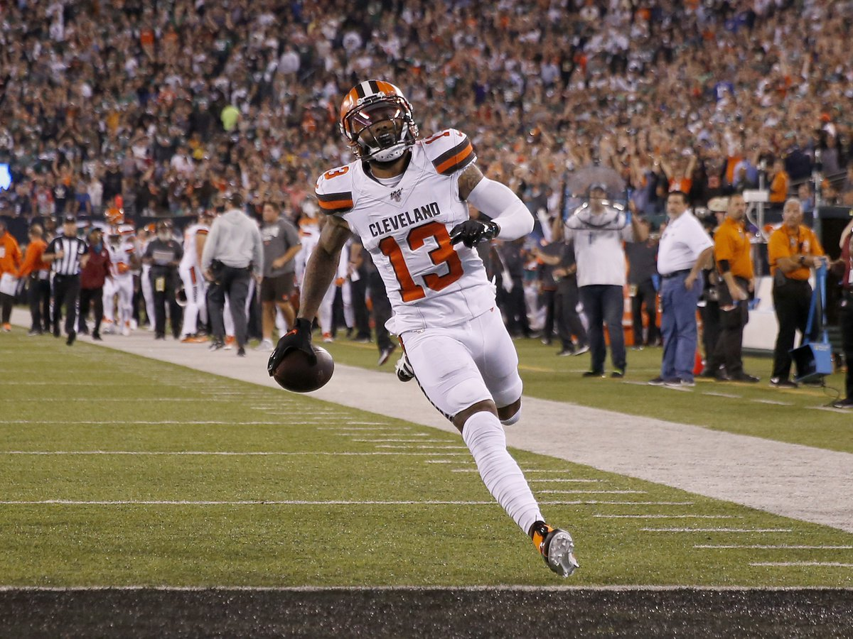 Cleveland defeats the NY Jets 23-3 in OBJ's return to Metlife  Browns and Under bettors cash out  <br>http://pic.twitter.com/LHey2s0aFG