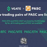 Image for the Tweet beginning: To all PASC fans, Trading pairs