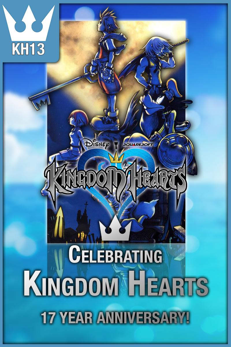 #KHAnniversary  Happy 17th Anniversary to the North American release of Kingdom Hearts!   http:// kh13.com     <br>http://pic.twitter.com/eupm3qiQcN