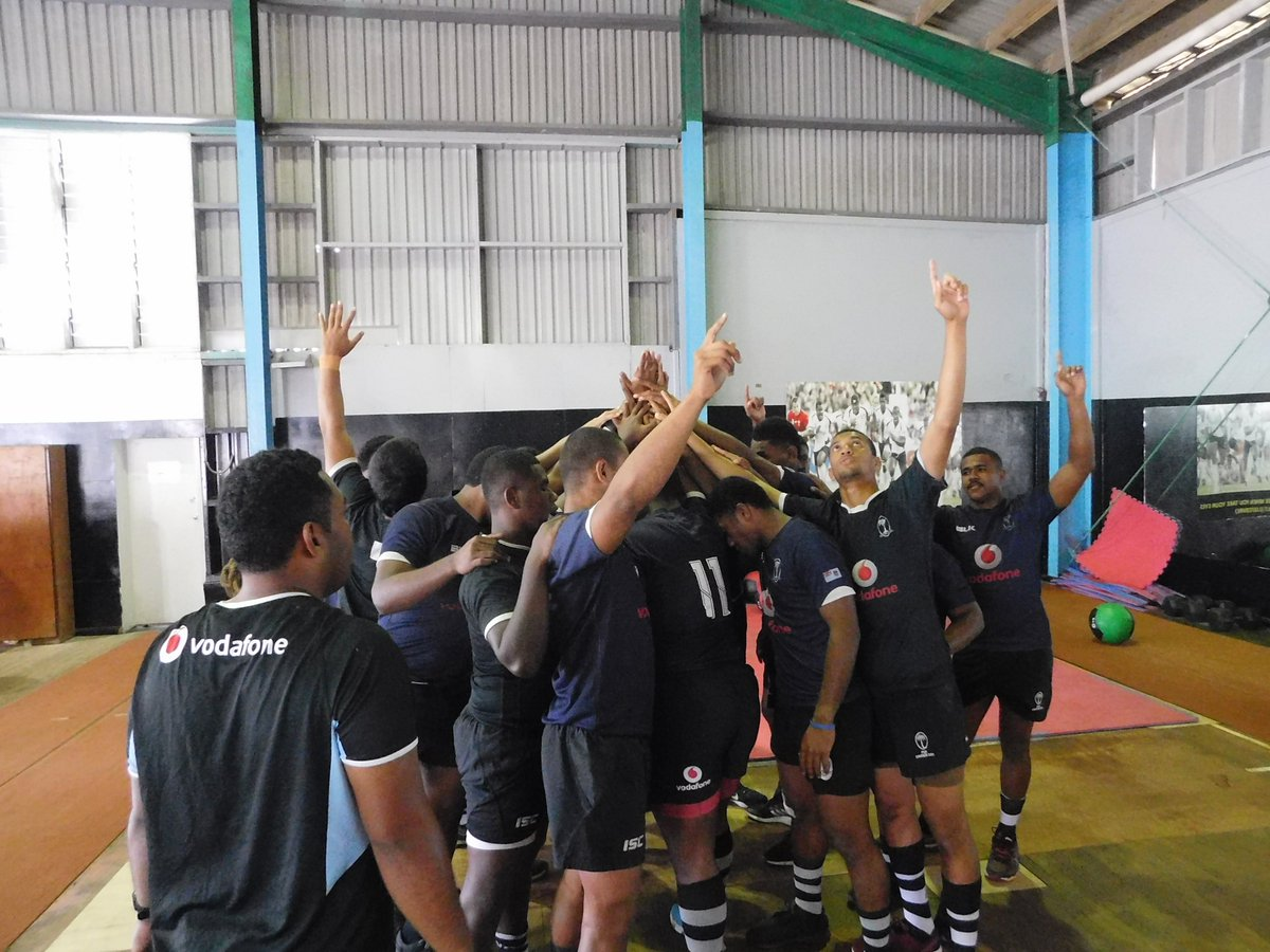 Vodafone Fijian Under-18 hit the gym earlier today as they continue their preparation ahead of their New Zealand tour later this month