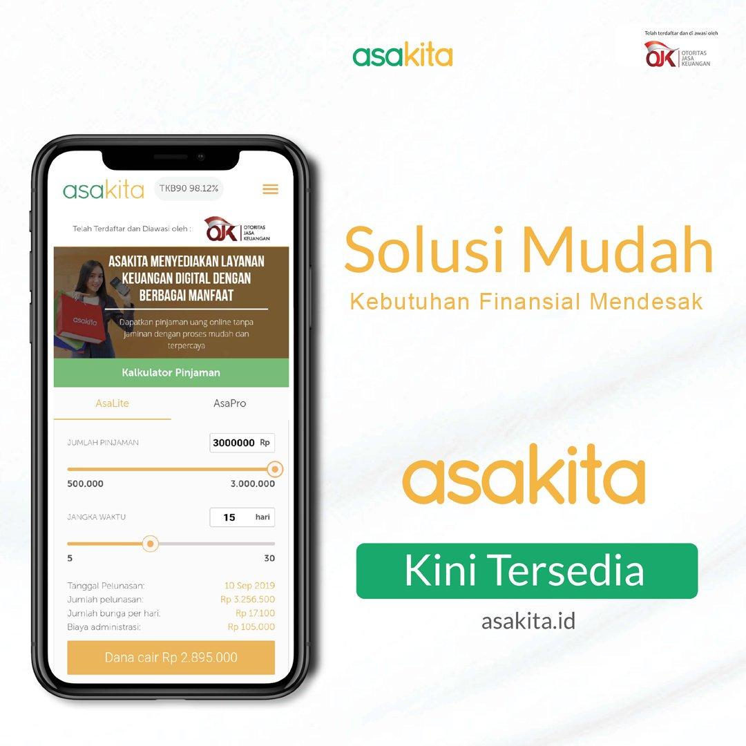 Asakita On Twitter Halo Indonesia Pinjaman Online Tanpa Jaminan