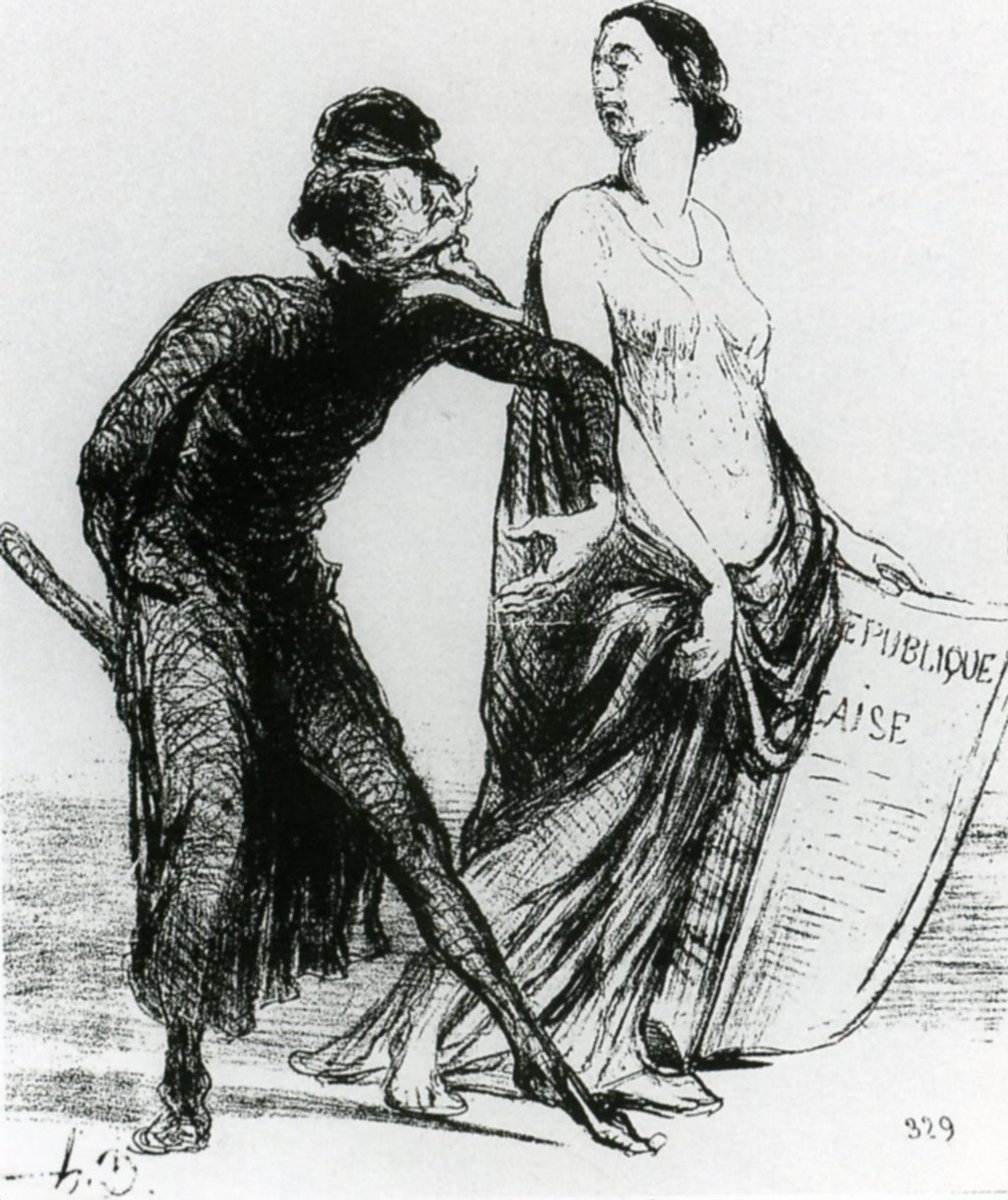 Beautiful injury, want you to accept my arm, Honore Daumier, 1851 #honoredaumier #daumier<br>http://pic.twitter.com/N1wlzFEqNr
