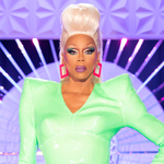 """Image for the Tweet beginning: RuPaul says """"never say never"""""""