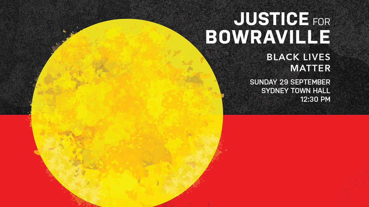 We are yet to hear a response from the NSW State Government on our campaign for #JusticeforBowraville - and we are protesting to demand JUSTICE NOW. facebook.com/events/4683717… Please Join us!! @IndigenousXLtd @LukeLPearson @amymcquire @ShoebridgeMLC @AJ_Whittaker @latoya_aroha